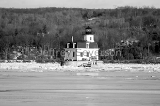 Town of Esopus Lighthouse in Winter 2