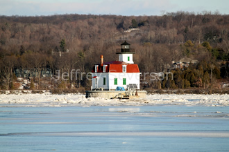 Town of Esopus Lighthouse in Winter 1