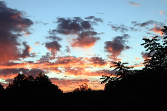 Clouds at Sunset 2