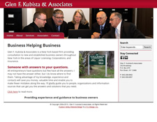 Glen F. Kubista & Associates Website Redesign