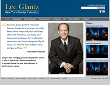 Lee Glantz Website Redesign 2014