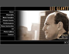 Lee Glantz: New York Pianist/Vocalist