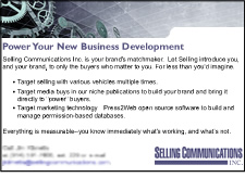 Selling Communications, Inc. Banner/Display Ads